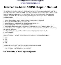 mercedes benz 500sl repair manual 1990 1993 by michael jatenson issuu 1991 mercedes benz sl500 1991 mercedes 500sl engine diagrams  [ 1156 x 1496 Pixel ]