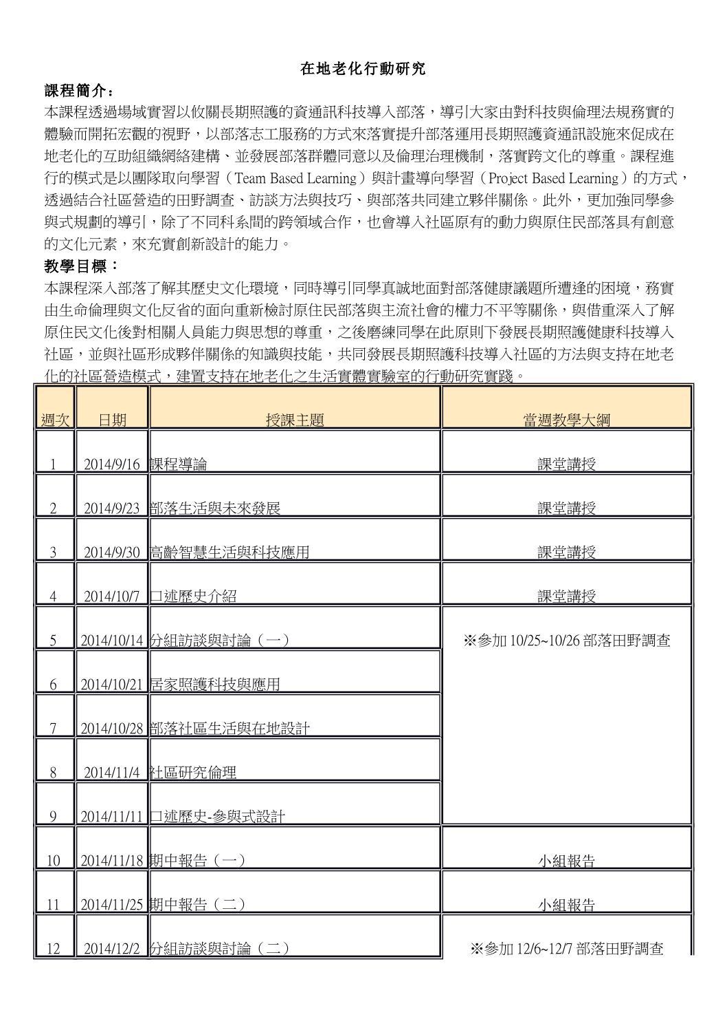 課綱 1031在地老化行動研究 by insight ewpg - Issuu