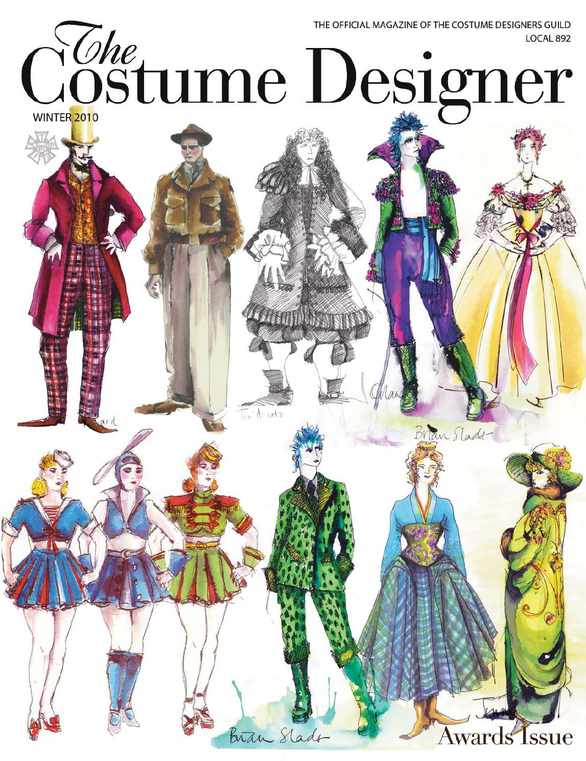 The Costume Designer  Winter 2010 by Costume Designers Guild  Issuu