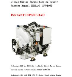 volkswagen sdi and tdi 2 5l 5 cylinder diesel marine engine service repair factory manual instant do by kmjnshenfn issuu [ 1058 x 1497 Pixel ]