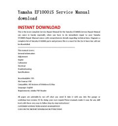 yamaha ef1000is service manual download by iusefjsnen issuuyamaha ef1000is wiring diagram 11 [ 1058 x 1497 Pixel ]