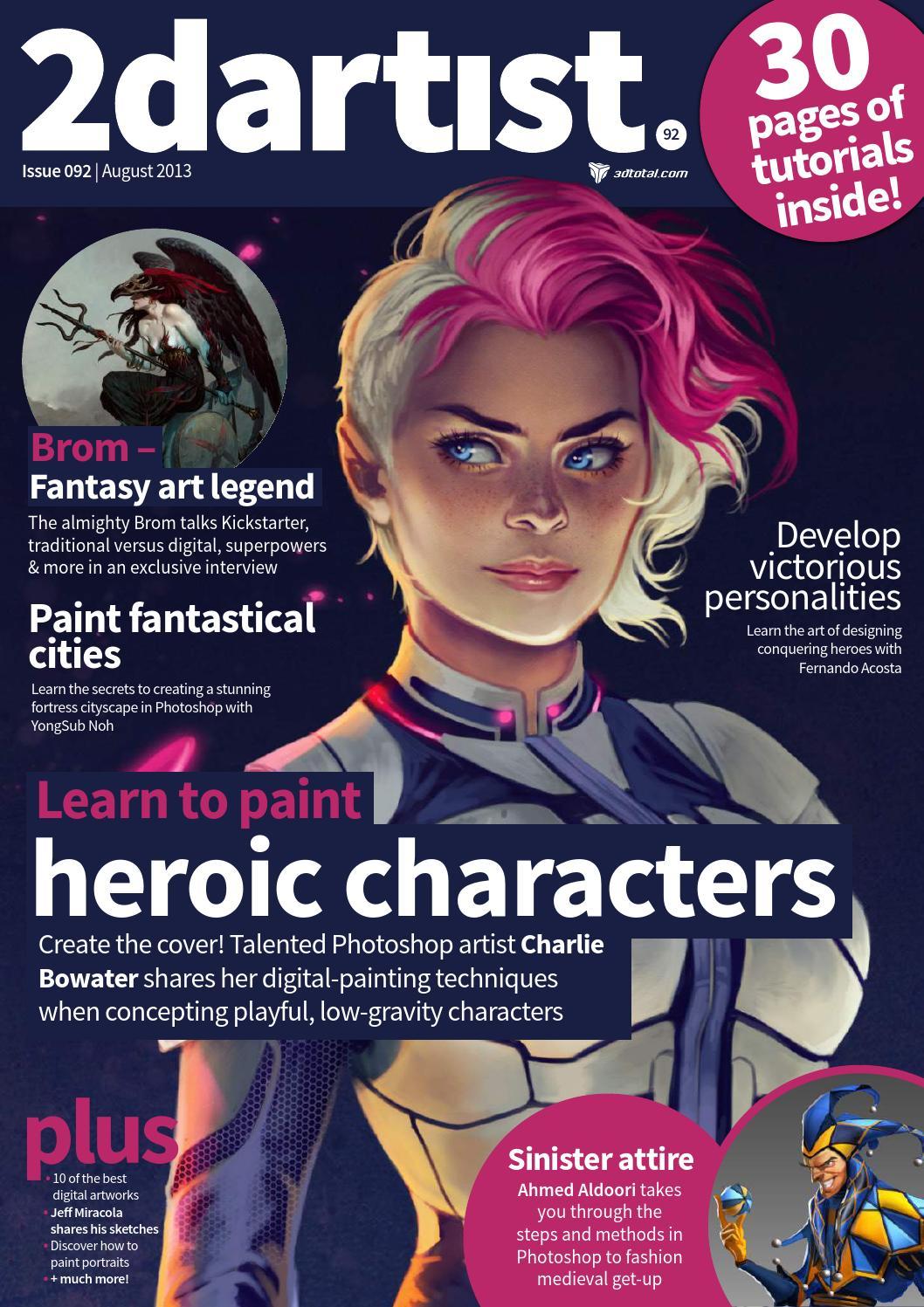 2D Artist  Issue 092  August 2013 by Kahshan Lau  Issuu