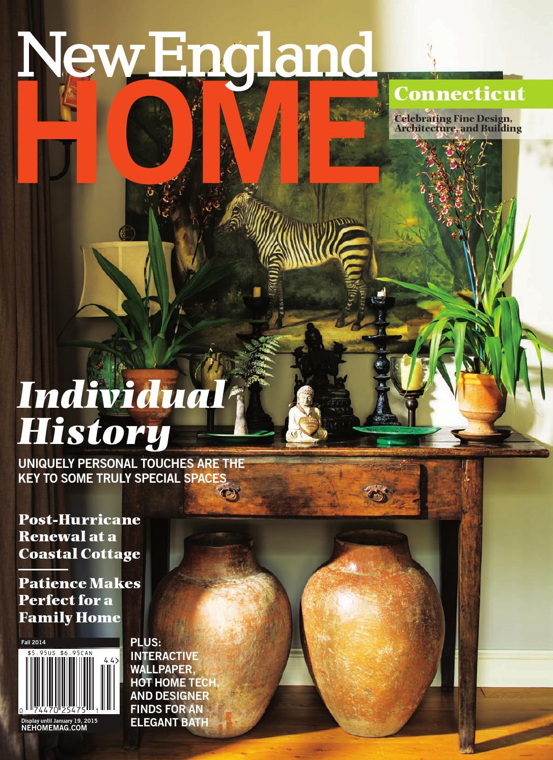 Connecticut Fall 2014 By New England Home Magazine Llc Issuu
