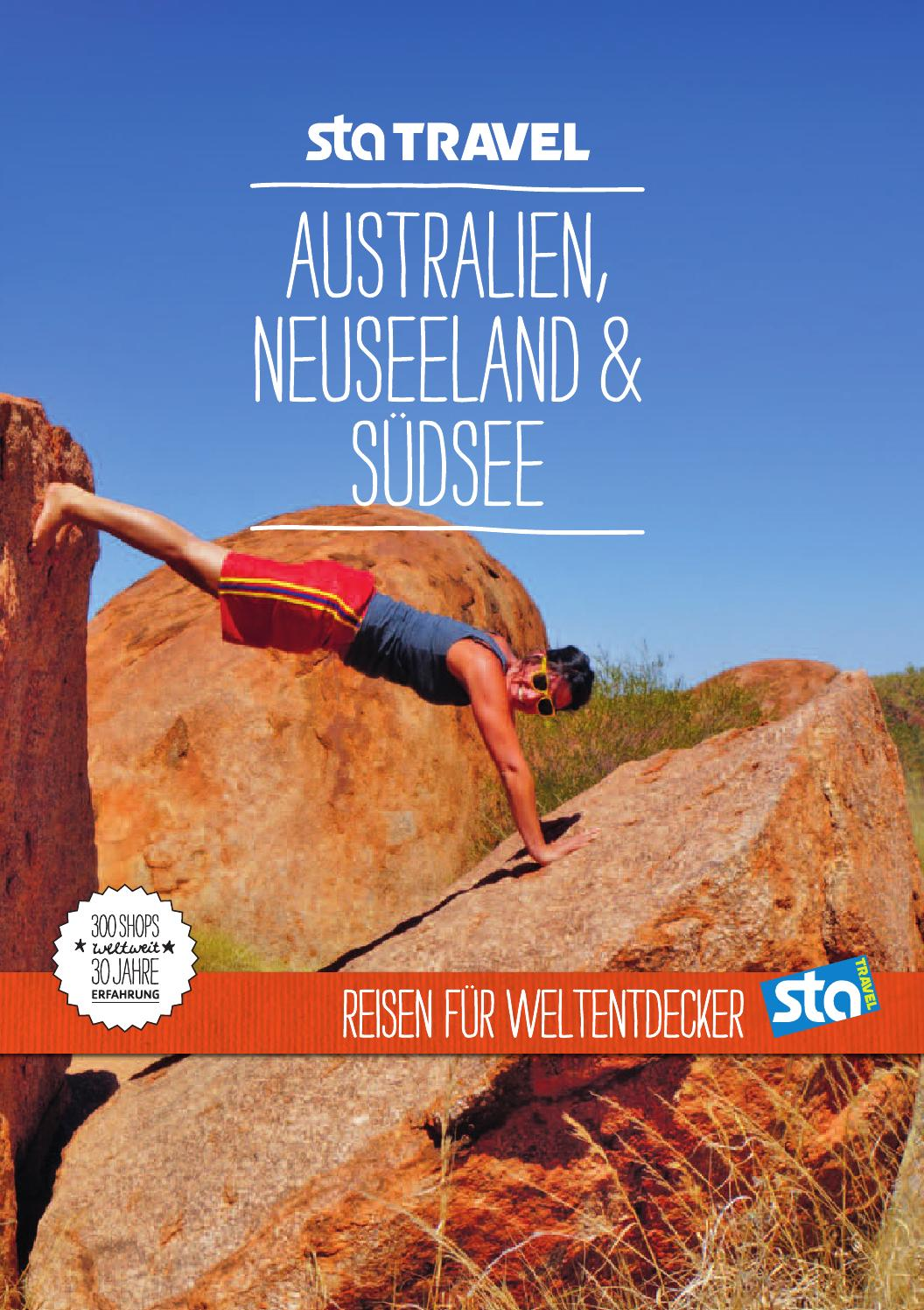 Sta Travel Australien Neuseeland Südsee By Bookletia Issuu