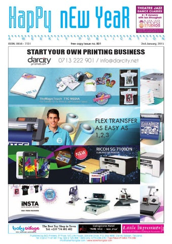 Advertising Dar Issue Nº801 2nd January 2015 By