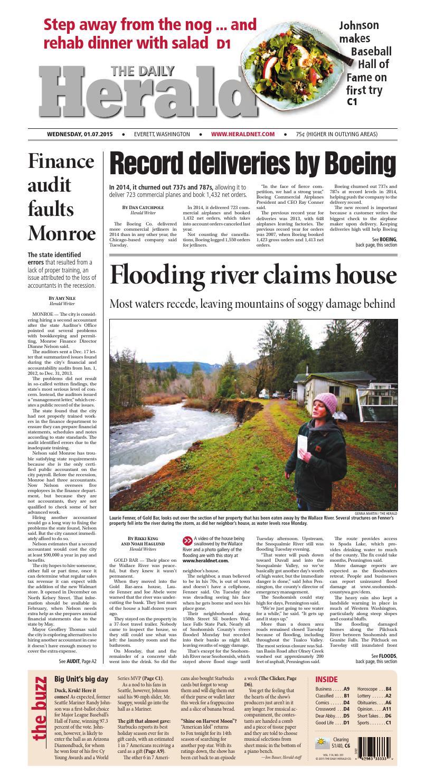 Everett Daily Herald January 07 2015 By Sound Publishing Issuu