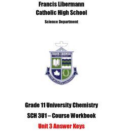 SCH 3U Workbook Answer Key - Unit 3 by Michael Papadimitriou - issuu [ 1496 x 1156 Pixel ]