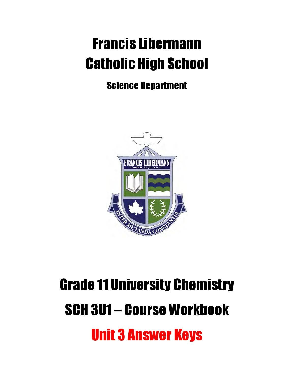hight resolution of SCH 3U Workbook Answer Key - Unit 3 by Michael Papadimitriou - issuu