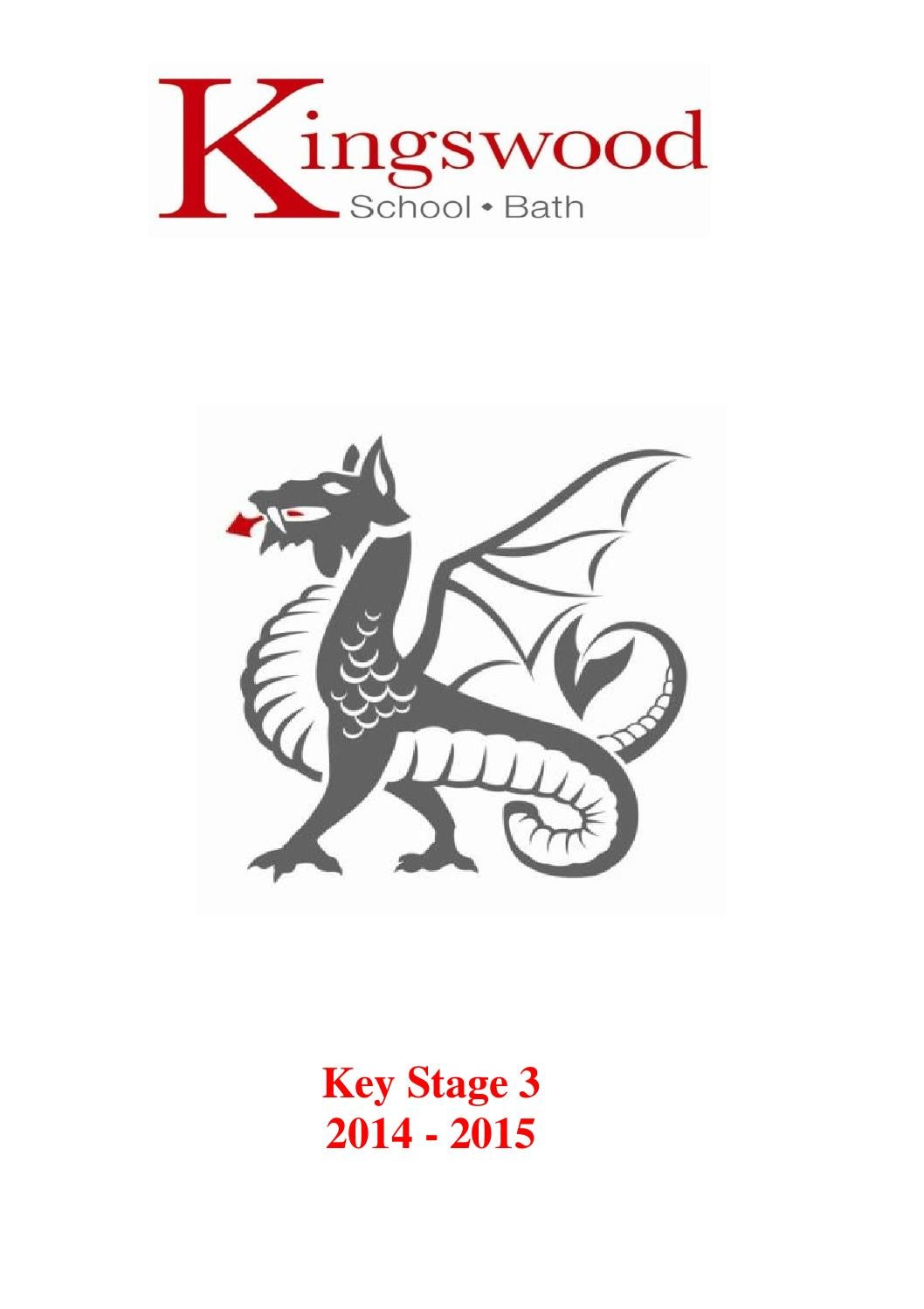 Kingswood School Key Stage 3 Curriculum Booklet by