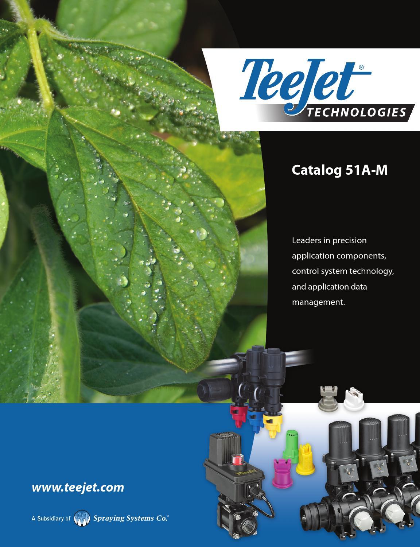 Teejet Catalog : teejet, catalog, Teejet, 51A-M, Catalog, DomDistribution, Issuu