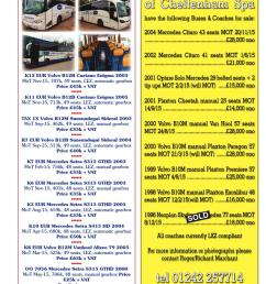 1992 volvo b10m plaxton paramount manual 53 seats array coach u0026 bus week issue 1172 by coach and bus week u0026 group travel [ 1058 x 1497 Pixel ]