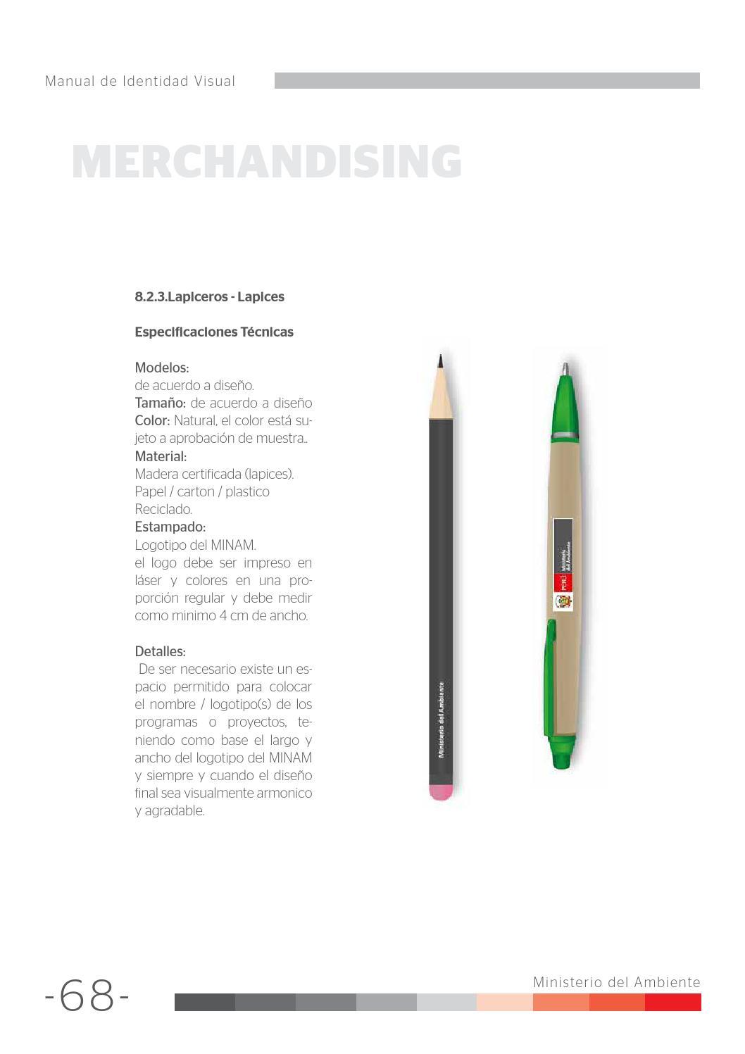 Manual de identidad visual MINAM by Ministerio del