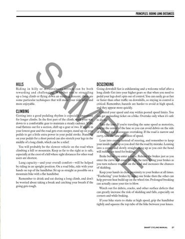 Smart Cycling Sample Manual by League of American