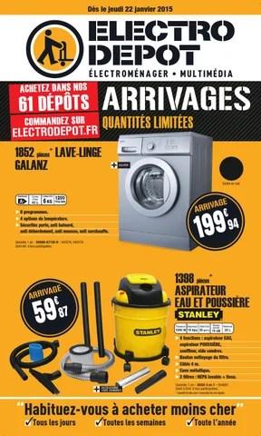 electro depot des le 22 janvier 15 by