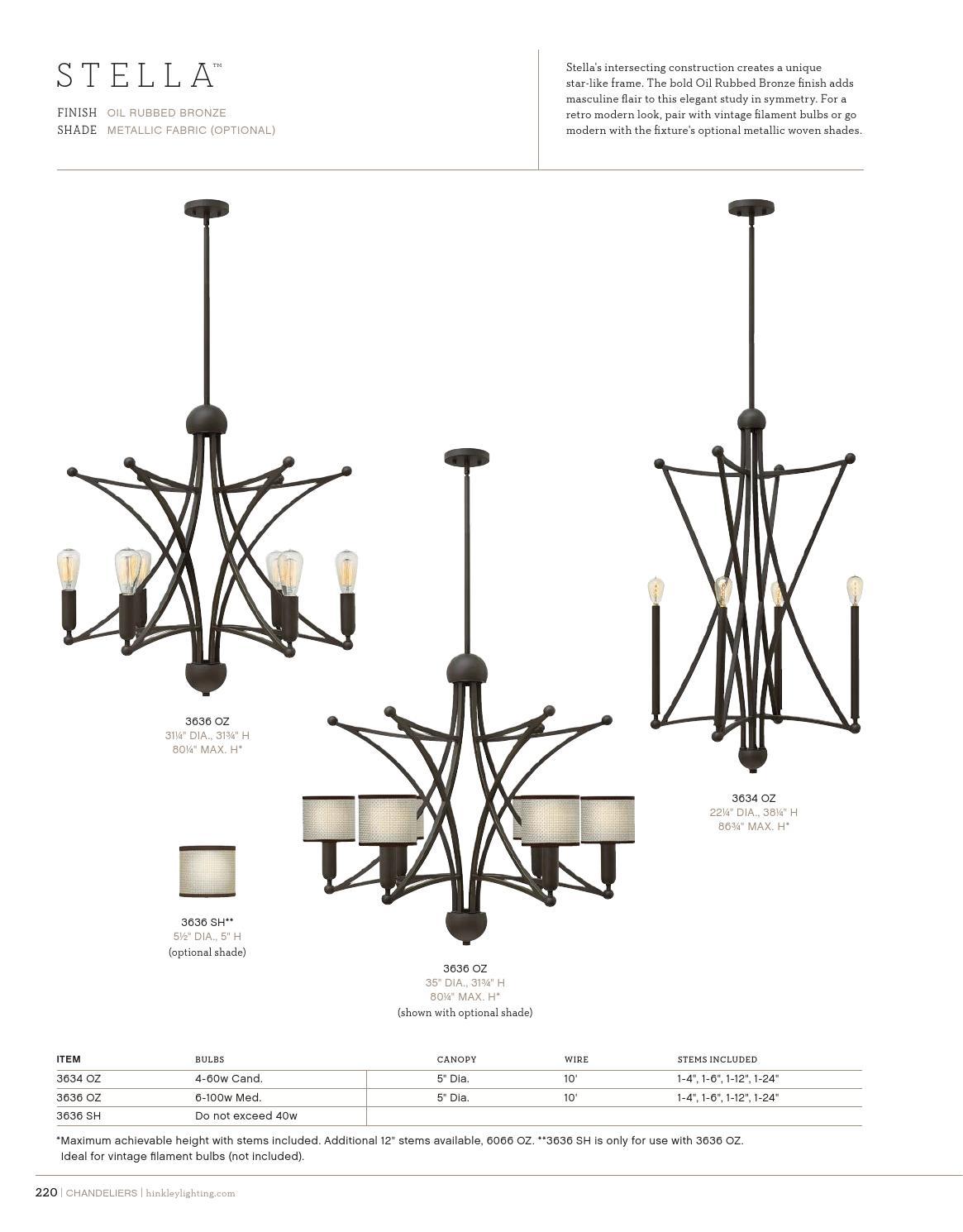 hight resolution of hinkley 2015 2016 catalog chandelier