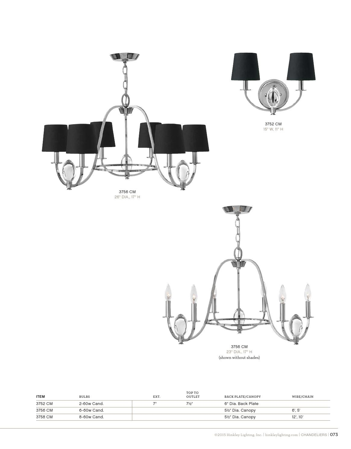 hight resolution of chandelier canopy diagram