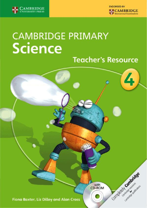 Cambridge Primary Science Teacher' Resource Book