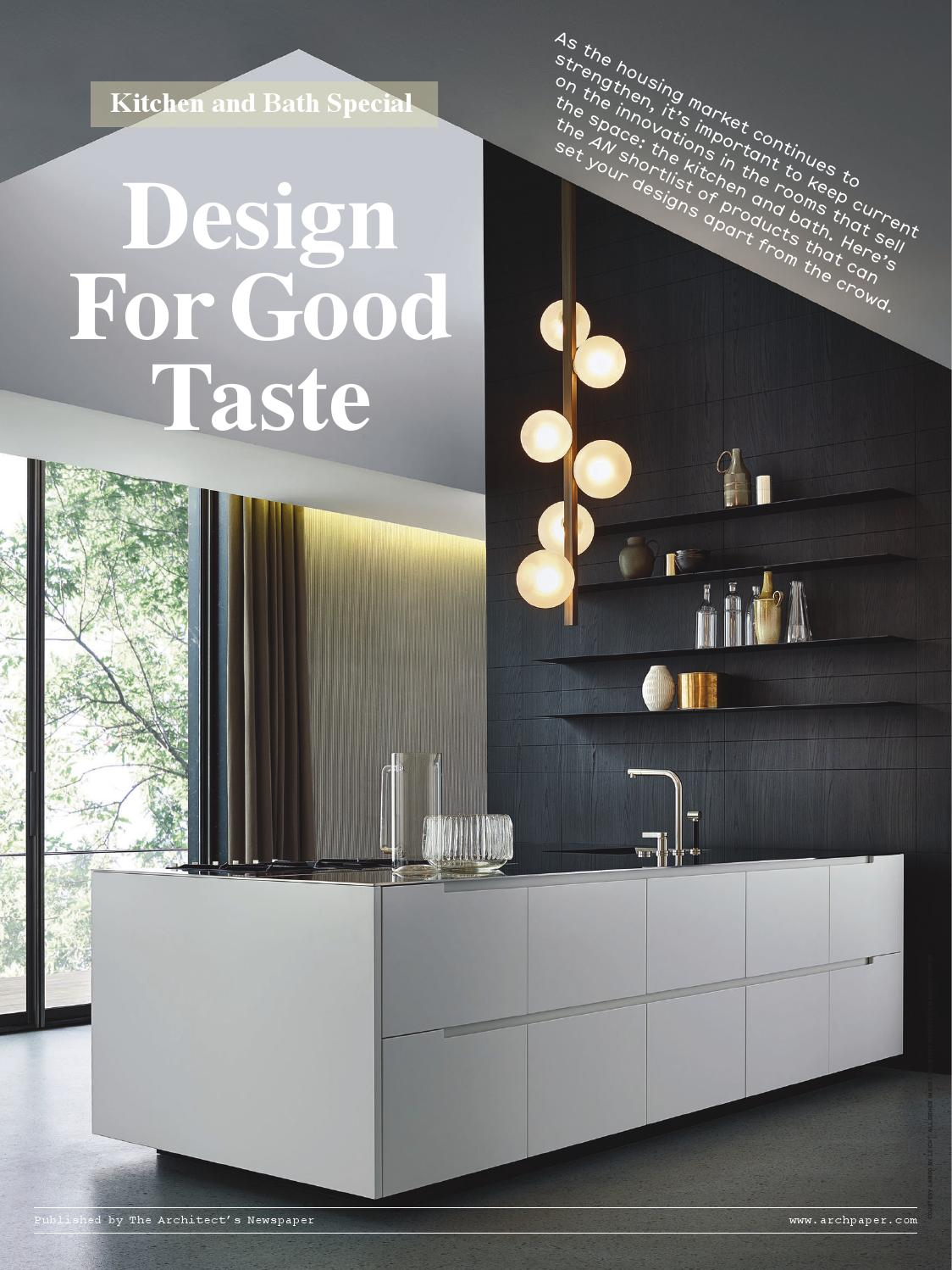 Cuisine Salinas Boffi Prix An 2015 Kitchen And Bath Supplement By The Architect S Newspaper