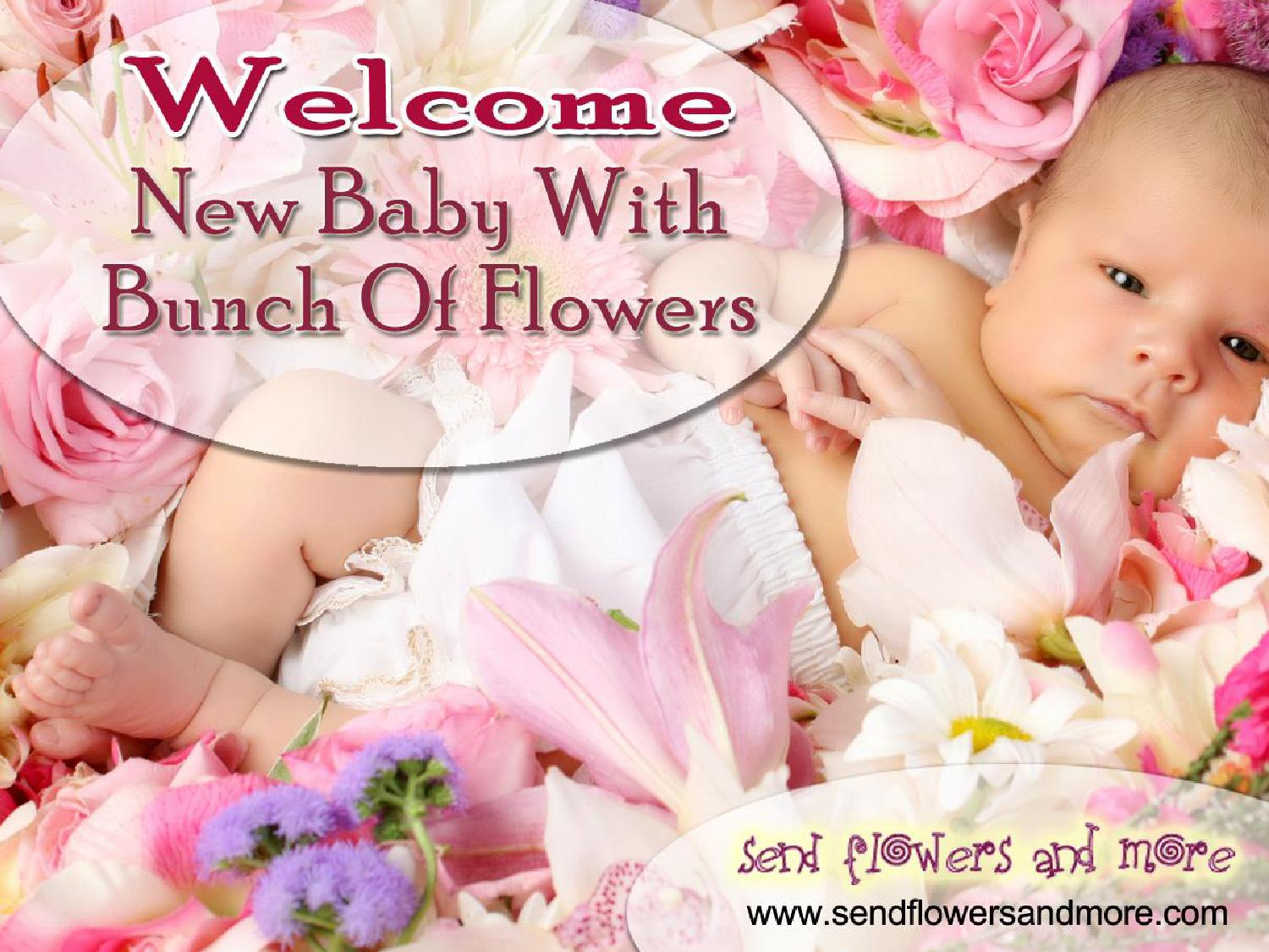 welcome new baby with