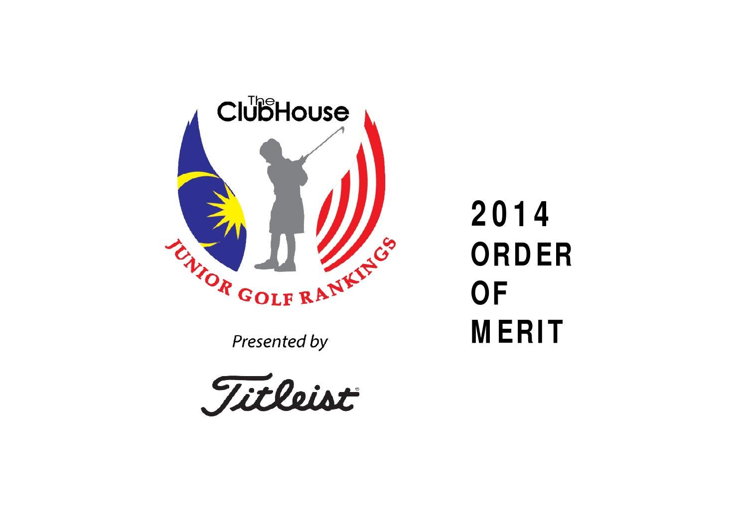 The ClubHouse Junior Golf Rankings presented by Titleist