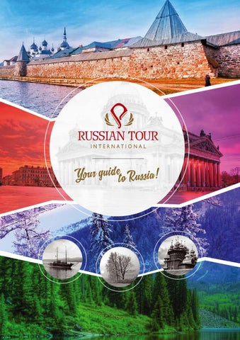 Russia Travel Brochure 2015 By Russian Tour Issuu