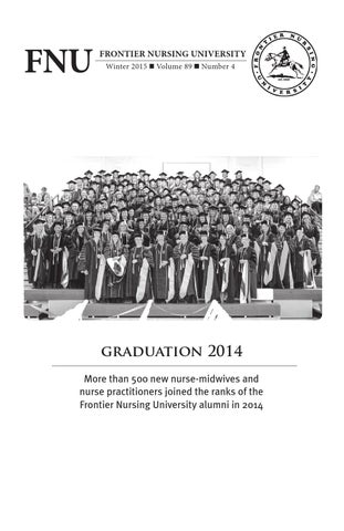 FNU Quarterly Bulletin Winter 2015 Volume 89 Number 4 by