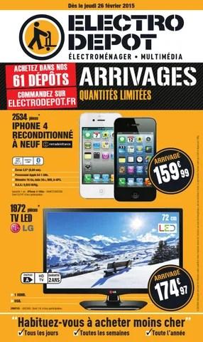 electro depot catalogue 26 fevrier 15