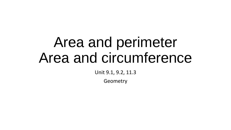 Area perimeter trapezoid, rhombus, kite, rectangle