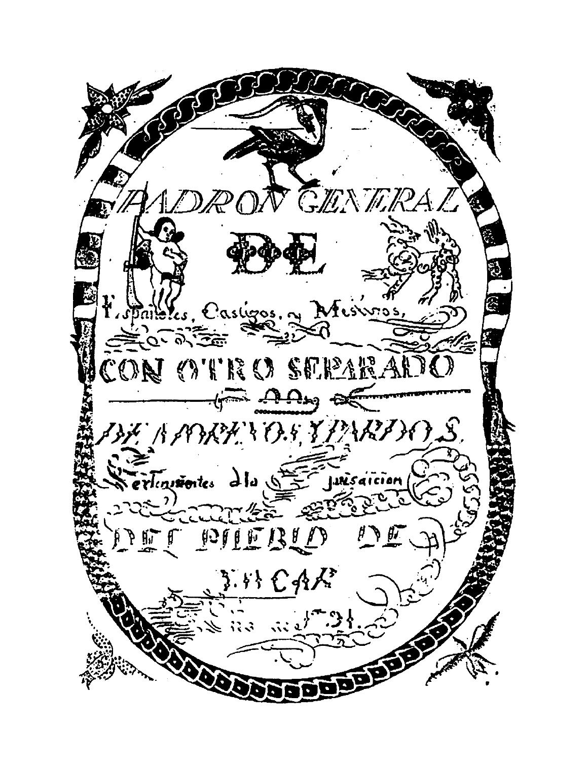 Glossary of terms used in Spanish colonial times by