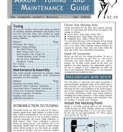 easton arrow tuning maintenance guide archery complete tuning guide by davy goedertier issuu [ 1156 x 1496 Pixel ]