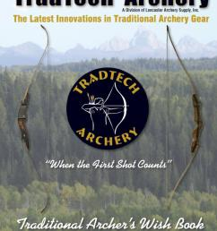 tradtech archery the latest innovations in traditional archery gear when the first shot counts c by davy goedertier issuu [ 1154 x 1491 Pixel ]