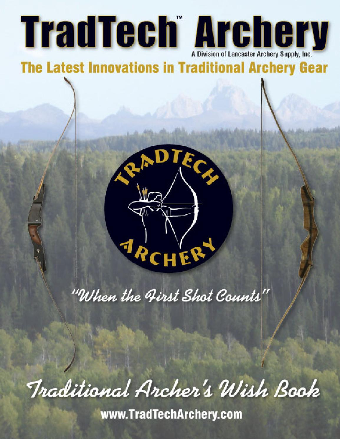 hight resolution of tradtech archery the latest innovations in traditional archery gear when the first shot counts c by davy goedertier issuu