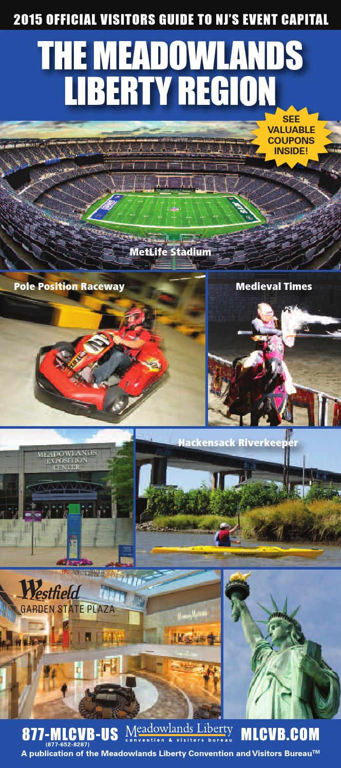 medium resolution of 2015 visitors guide the meadowlands liberty region by meadowlands media issuu