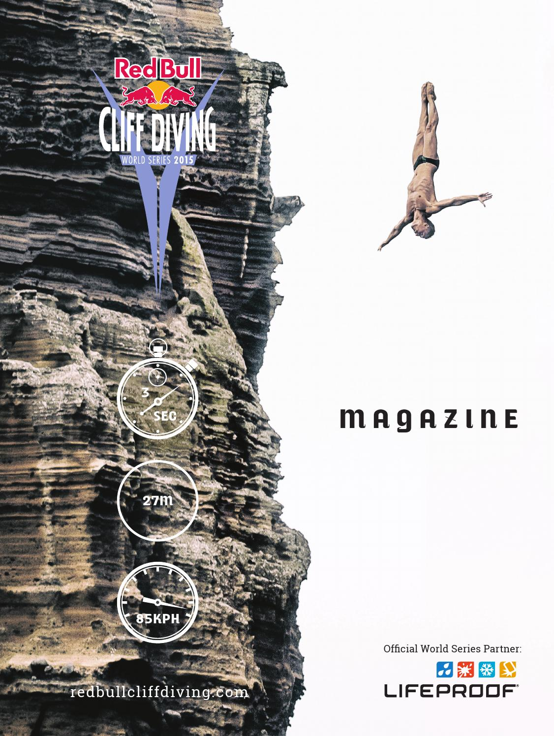Red Bull Cliff Diving Height : cliff, diving, height, Cliff, Diving, Media, House, Issuu