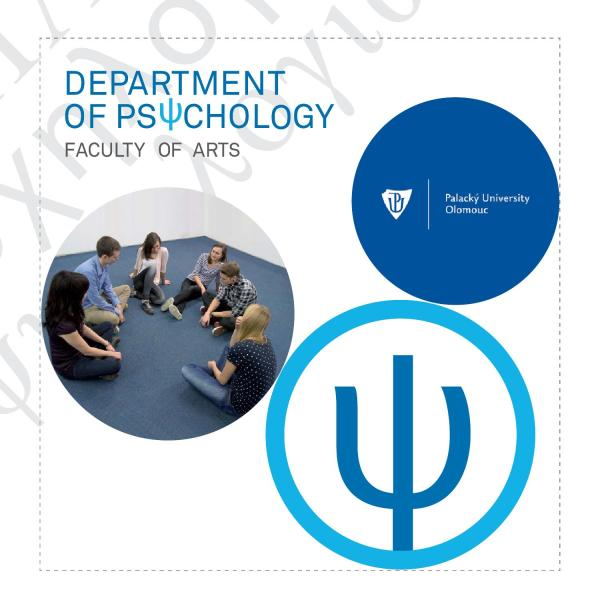 Department Of Psychology Faculty Arts Palack
