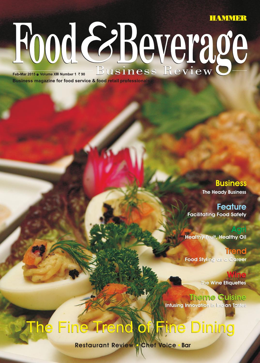 Food  Beverage Business Review FebMar 2015 by Food  Beverage Business Review  Issuu