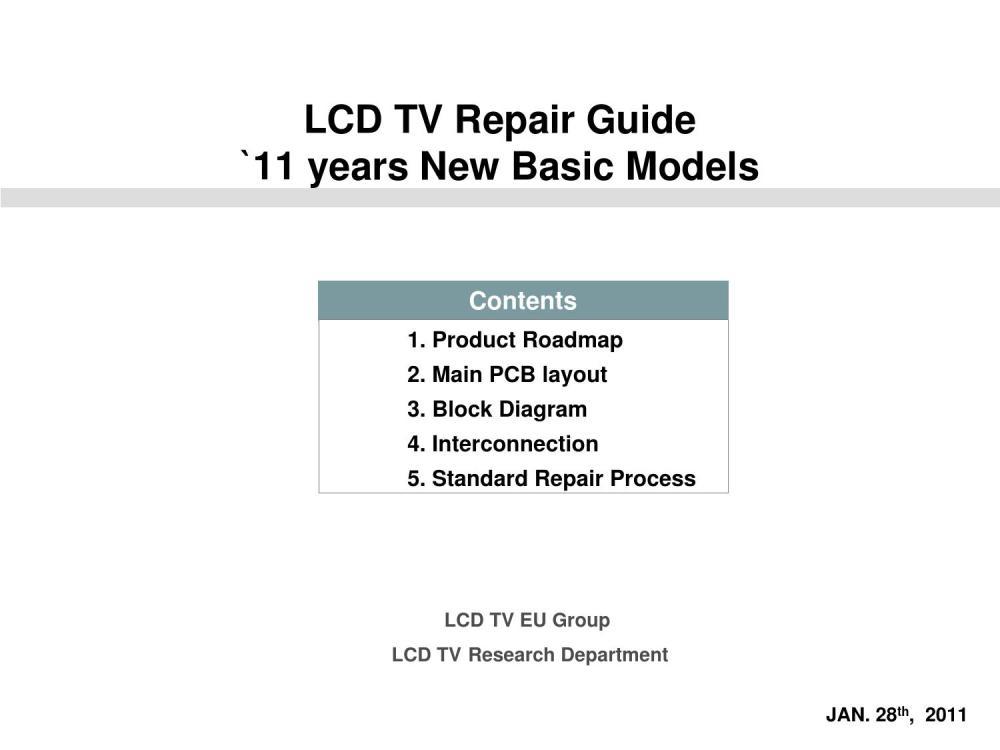 medium resolution of tv repair diagram