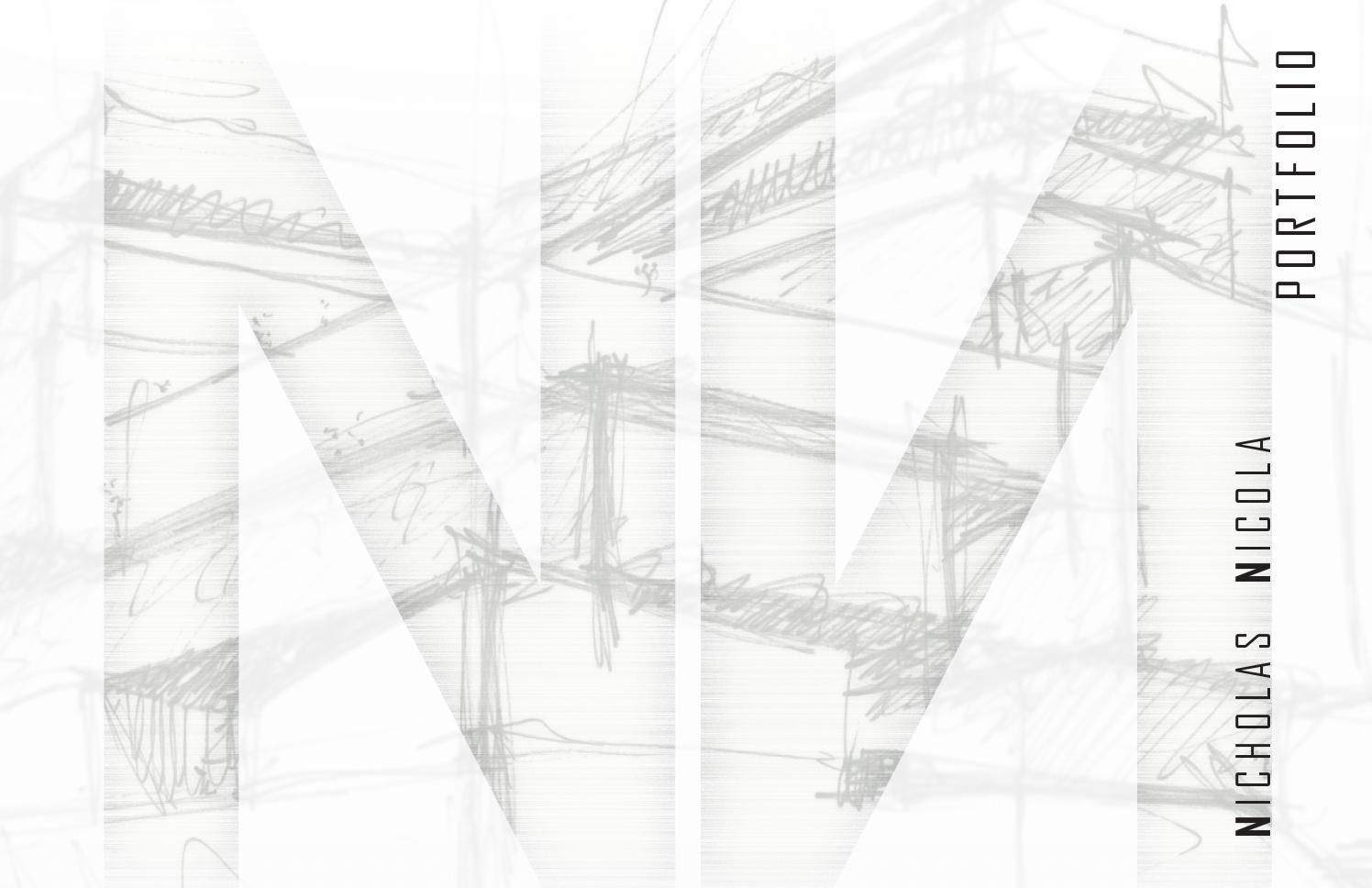 Nicholas Nicola Architectural Portfolio by Nick Nicola