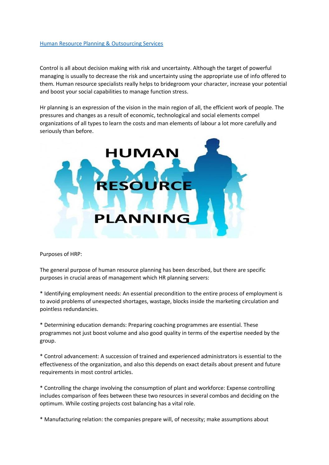 Human resource planning & outsourcing services by themisconsult - Issuu