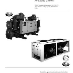 Carrier 30hxc Chiller Wiring Diagram Pj Trailer Electric Brake 13173 Phase1 By Servis Plzen S R O Issuu 075 370 30gx 080 350 Screw Compressor Water Cooled Chillers And Air Nominal Cooling Capacity 268 1290 Kw
