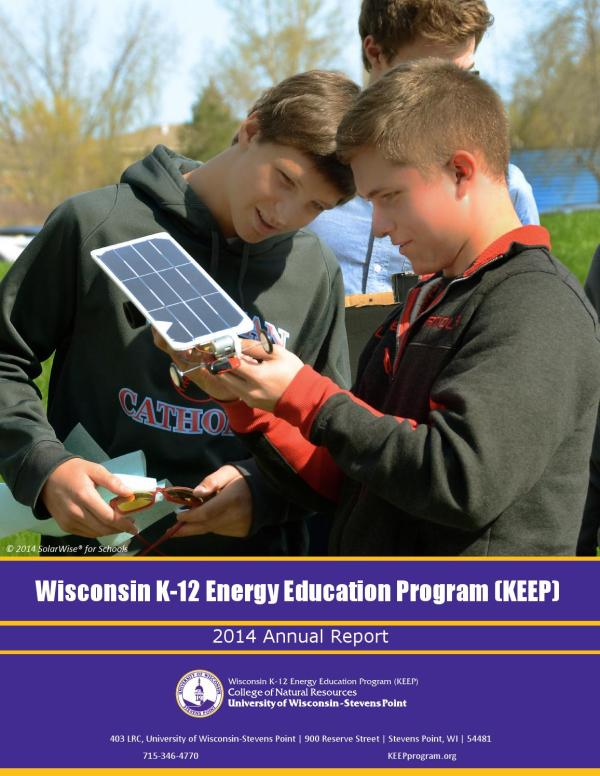 Wisconsin -12 Energy Education Program 2014 Annual