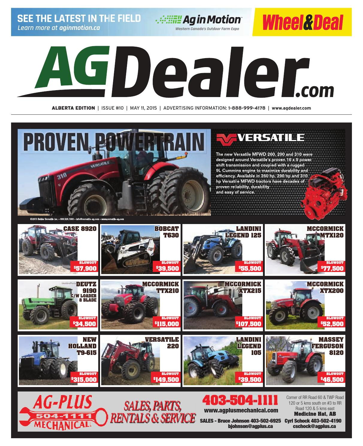 hight resolution of wheel amp deal alberta may 11 2015 by farm business communications issuu