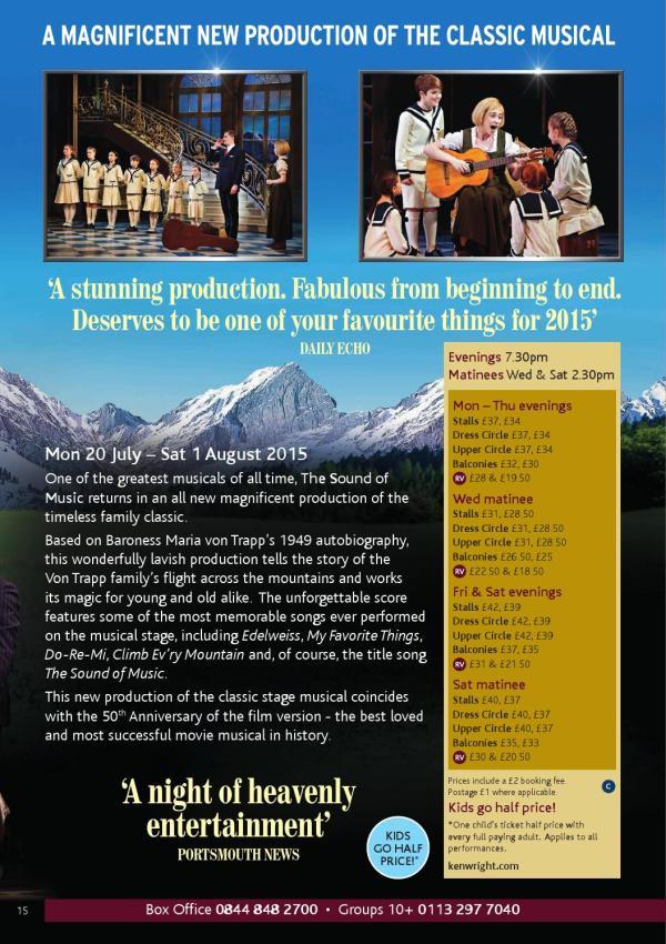 Leeds Grand Theatre Brochure May15