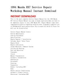 1994 mazda rx7 service repair workshop manual instant download by jhsnefjnsen issuu [ 1058 x 1497 Pixel ]