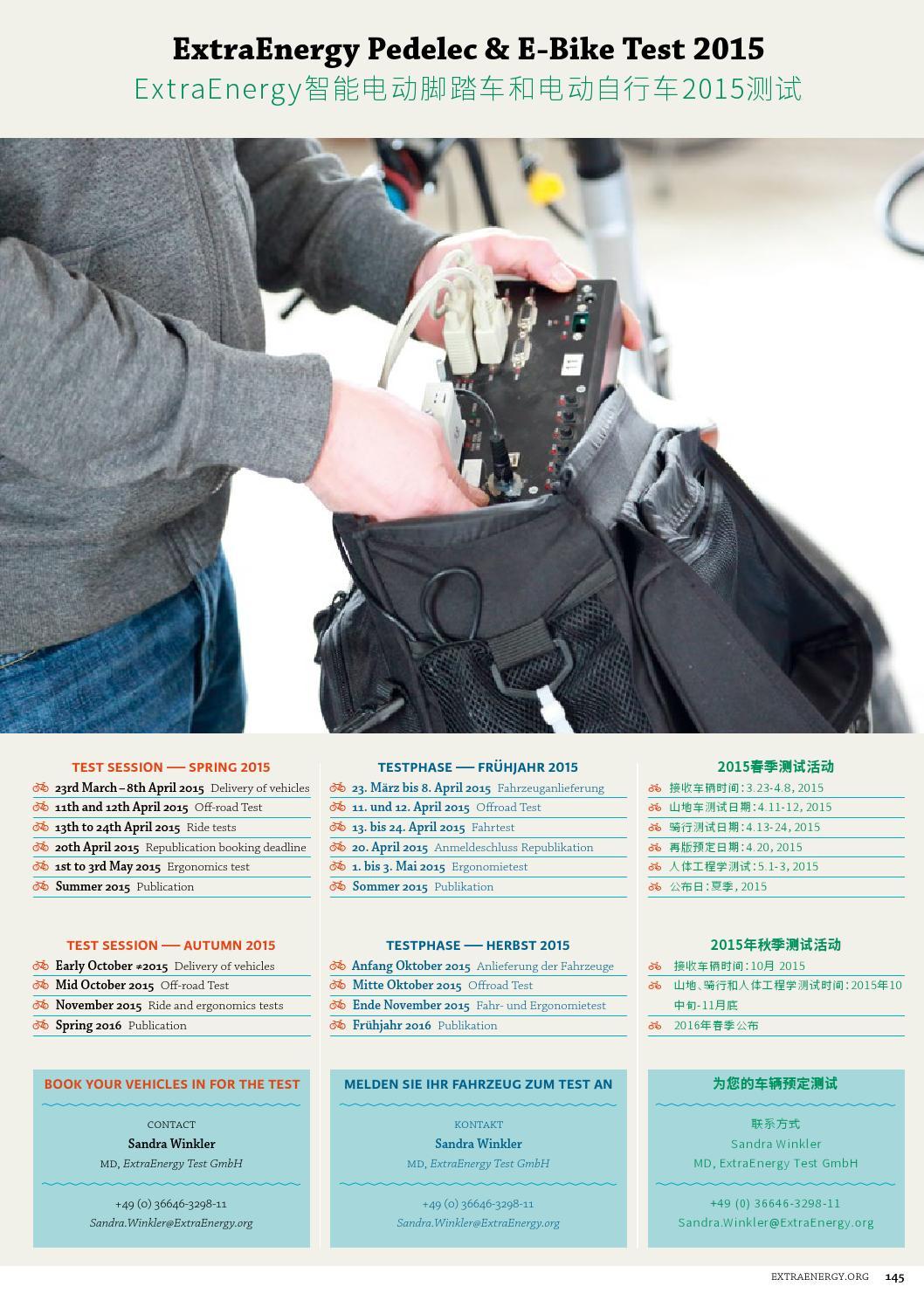 c03010216ea Test 2014 15 Pedelec And E Bike Magazine No 11 By Extraenergy