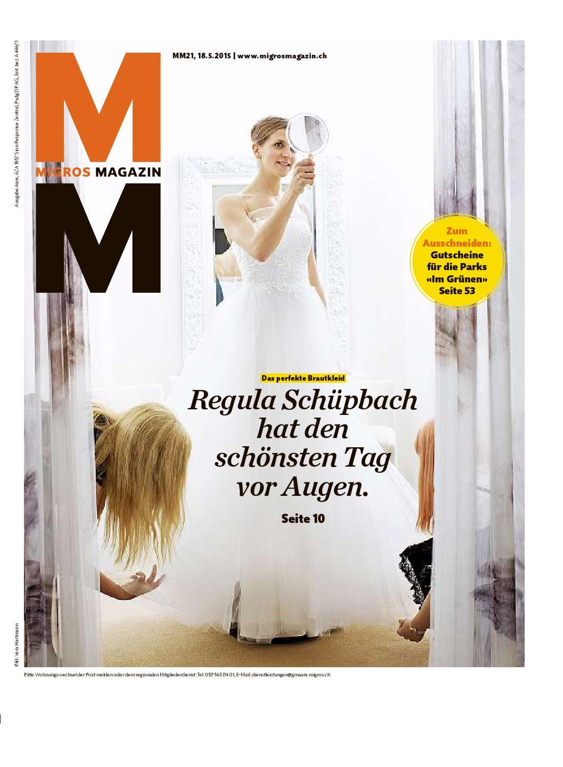 Migros Magazin 21 2015 D Aa By Migros-Genossenschafts-Bund - Issuu
