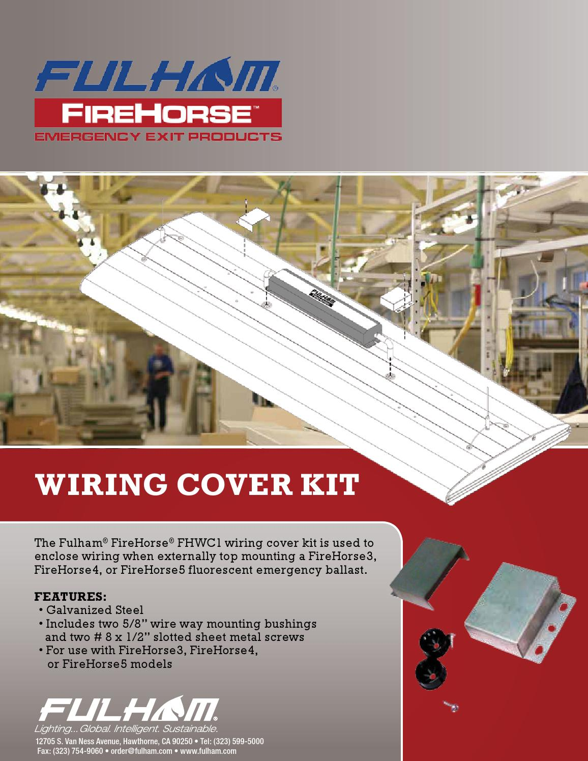 fulham ballast wiring diagram 110v plug firehorse cover kit by co inc