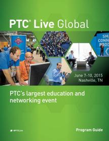 Ptc Live Global 2015 Program Guide Events - Issuu