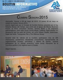 Bolet Semanal Informativo . 171 01 De Junio 2015