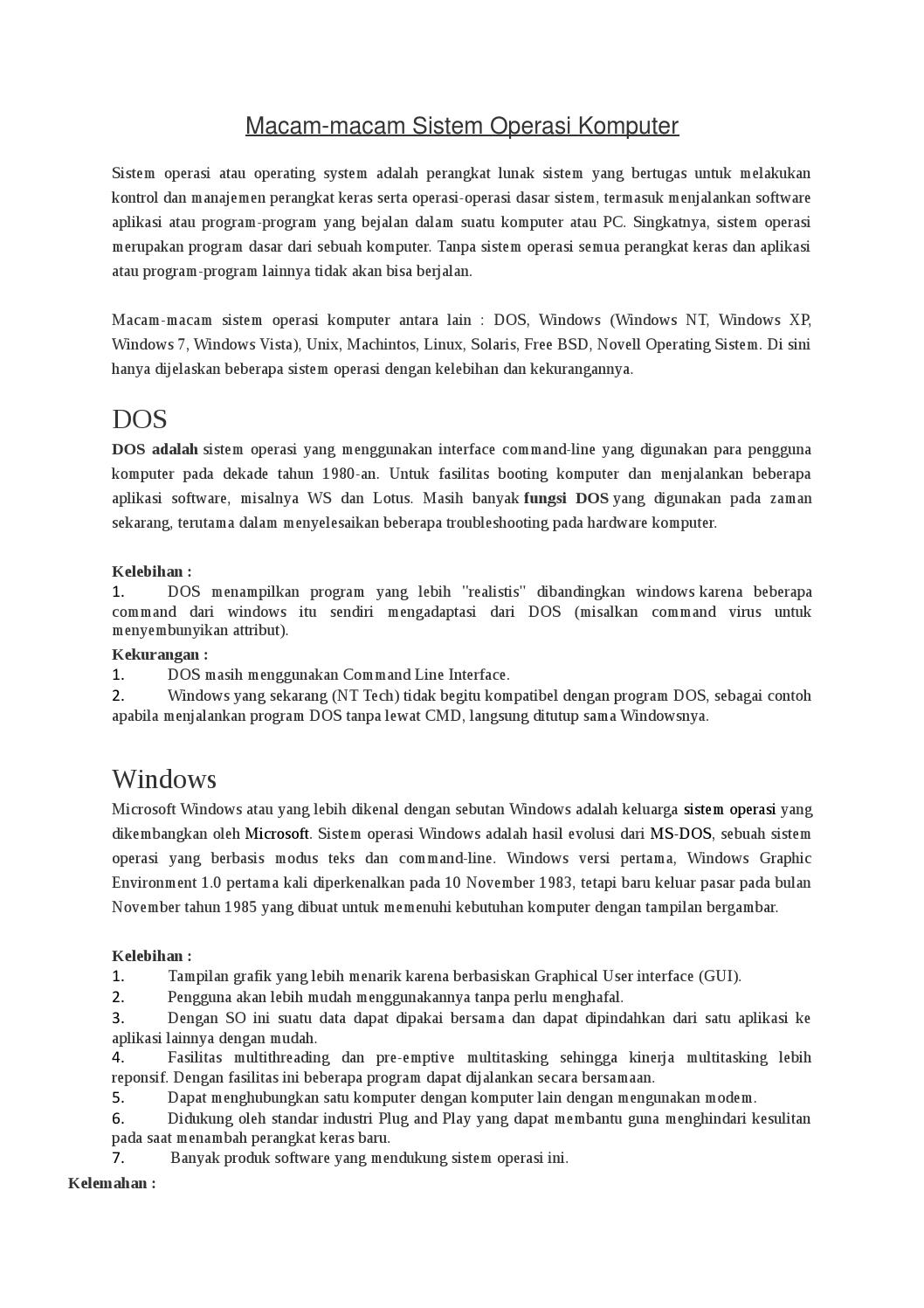 6 Kelebihan Windows 10 Dari Windows Sebelumnya | Good Choice